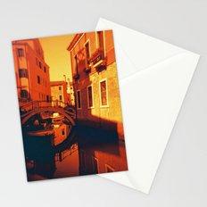 Venice in Redscale Film Stationery Cards