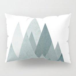 Mid Century Scandinavian Mountain Pillow Sham