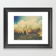 Engulfed Framed Art Print