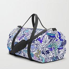 Kamasutra LOVE - Ultraviolet Purple Blue Duffle Bag