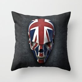 British horror Throw Pillow