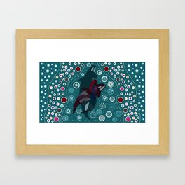 Shifting Framed Art Print
