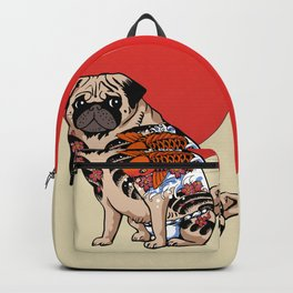 Yakuza Pug Backpack