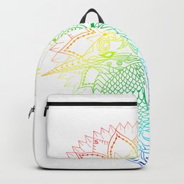 Rainbow kingfisher Backpack