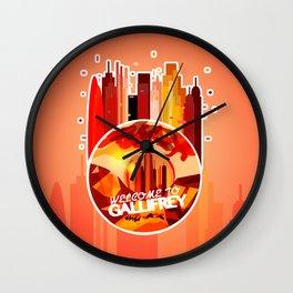 Welcome to: Gallifrey! Wall Clock
