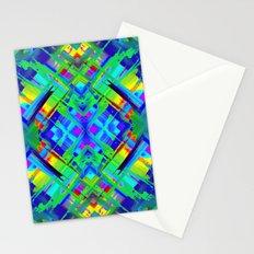 Colorful digital art splashing G476 Stationery Cards