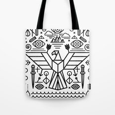 Secret Eagle Tote Bag