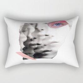 collage portrait Rectangular Pillow