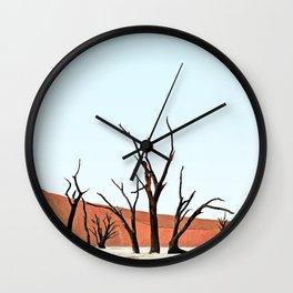 Deadvlei X Wall Clock
