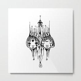 the daynight twins Metal Print