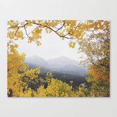 Fall Frame Canvas Print
