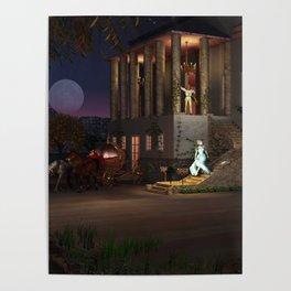 Cinderella's Coach Poster