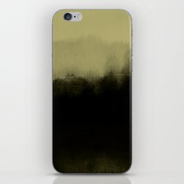 golden lime & graphite iPhone Skin