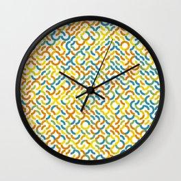 Rotated Arcs 01, Seed 2/31 Wall Clock