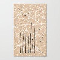 celestial Canvas Prints featuring Celestial by Finn Wild