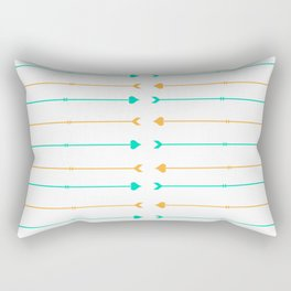 Broken Hearts, But Not Weak Hearts Rectangular Pillow