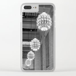 Grand Central Station, NYC Clear iPhone Case