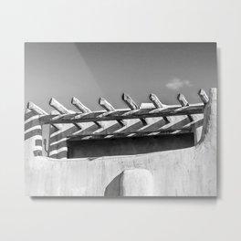 Santa Fe Photo, Beams and Shadows Metal Print