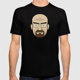 Faces of Breaking Bad: Walter White T-shirt