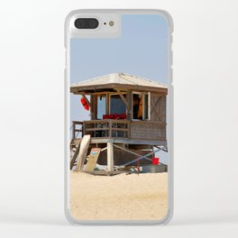 A Day at the Office Clear iPhone Case