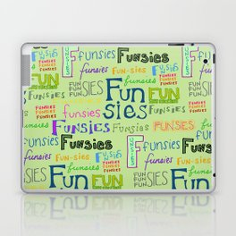 Funsies, 2 Laptop & iPad Skin