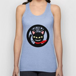 Whim is grinning Unisex Tank Top