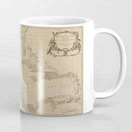 Map of the West Indies by Sayer & Jefferys (circa 1760) Coffee Mug