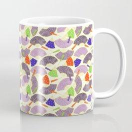 vintage oriental fans pattern Coffee Mug