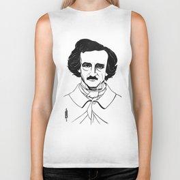 Edgar Allan Poe by Aubrey Beardsley 1926 Biker Tank
