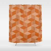 escher Shower Curtains featuring Escher #001 by rob art | simple