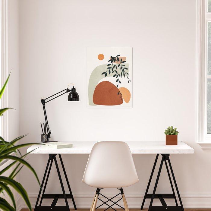 Soft Shapes I Poster