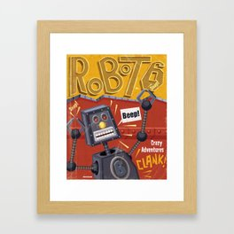 Robot 6 Framed Art Print