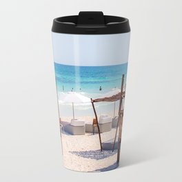 Tulum beach Travel Mug