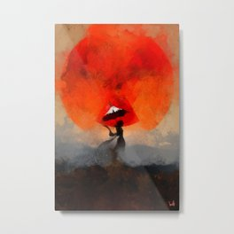 umbrellaliensunshine: atomicherry summer! Metal Print