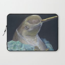 MADAME NARWHAL, by Frank-Joseph Laptop Sleeve