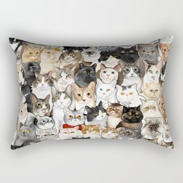 Catmina 2017 - SIX Rectangular Pillow