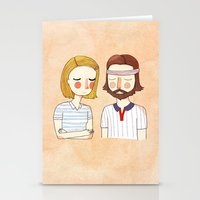 carpe Stationery Cards featuring Secretly In Love by Nan Lawson