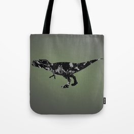 T-rex - black and gray Tote Bag
