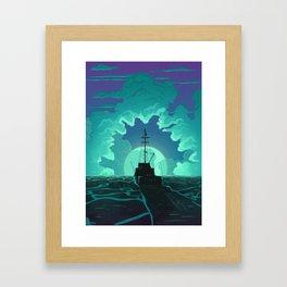 Bigger Boat Framed Art Print