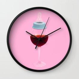 Baby muffler Wall Clock