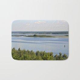 Landscape on the river # 3 Bath Mat