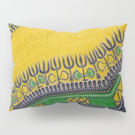 Peacock Pattern of Colors Pillow Sham