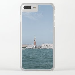Venice in Soft Tones // Travel and Lifestyle Collection Clear iPhone Case