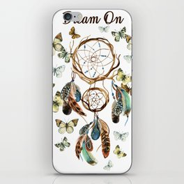 Dream On iPhone Skin