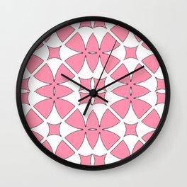 Baker Miller Pink Circles Wall Clock