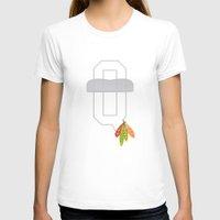 blackhawks T-shirts featuring Rock You Like a HurriKane by fohkat