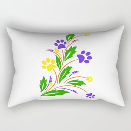 DOG PAW ART Rectangular Pillow