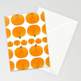 Pumpkin Pattern | Rustic Stationery Cards