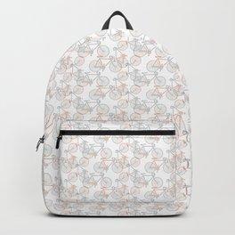 Vintage Bike Pattern Backpack