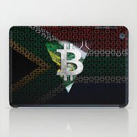 south africa iPad Cases featuring bitcoin South Africa by seb mcnulty